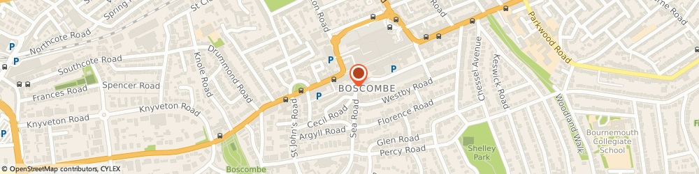 Route/map/directions to BodySnatchers Amateur Boxing Club, BH5 1DH Bournemouth, 19 Sea Rd