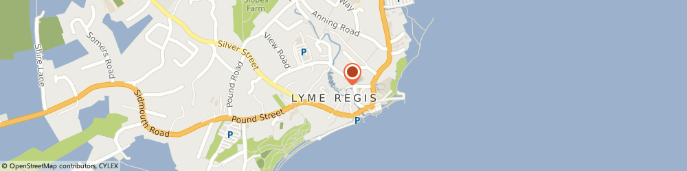Route/map/directions to COURTYARD CAFE, DT7 3PU Lyme Regis, The Town Mill Mill Lane
