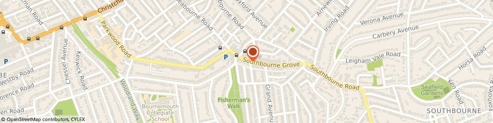 Route/map/directions to Deli Rocks, BH6 3QS Bournemouth, 23 Southbourne Grove