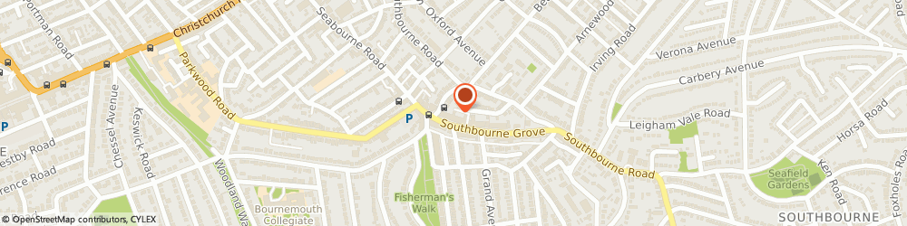 Route/map/directions to Post Office Limited, BH6 3RW Bournemouth, 14 Southbourne Grove