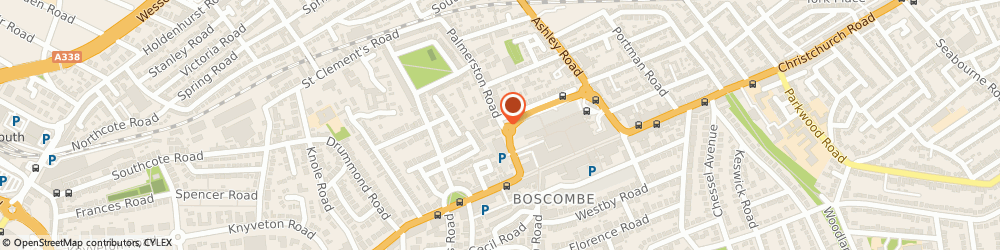 Route/map/directions to Bp Oil Uk Ltd, BH1 4HN Bournemouth, 25-33 PALMERSTON ROAD