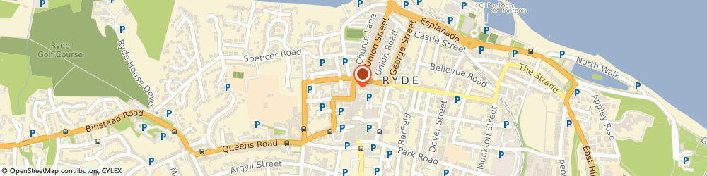 Route/map/directions to Univoice, PO33 2PN Ryde, 3 High Street