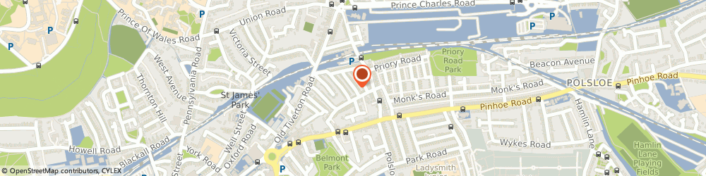 Route/map/directions to 2ba Promotions Ltd, EX4 6LU Exeter, 30 SALISBURY ROAD