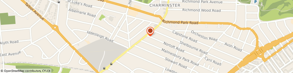 Route/map/directions to BourneFit Personal Training, BH8 8US Bournemouth, 98-102 Charminster Road