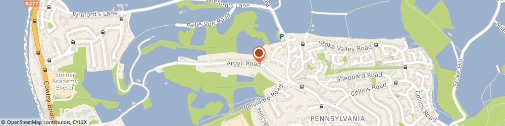 Route/map/directions to South West Heavy Haulage Limited, EX4 4RY Exeter, 32 ARGYLL ROAD