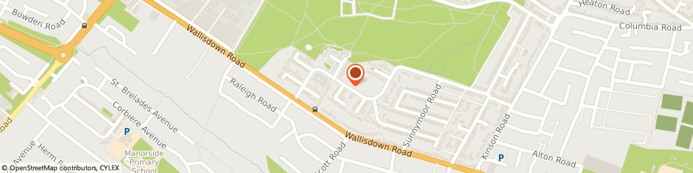 Route/map/directions to DPD Parcel Shop Location - Londis, BH11 8SH Bournemouth, 107 Canford Avenue