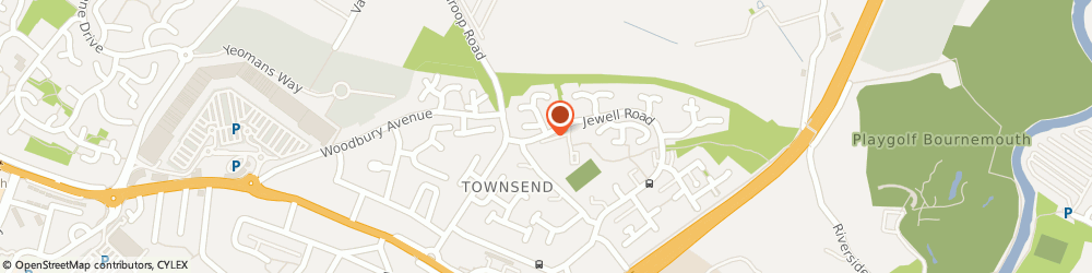 Route/map/directions to Post Office Limited, BH8 0LW Bournemouth, 189 Jewell Road
