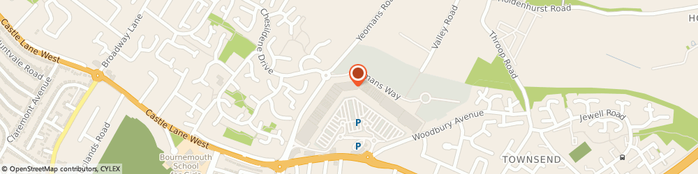 Route/map/directions to Clintons, BH8 9UY Bournemouth, 5, Castle Point Retail Park