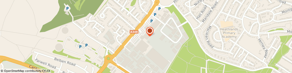 Route/map/directions to DPD Parcel Shop Location - Matalan, BH11 8LL Bournemouth, Ringwood Rd