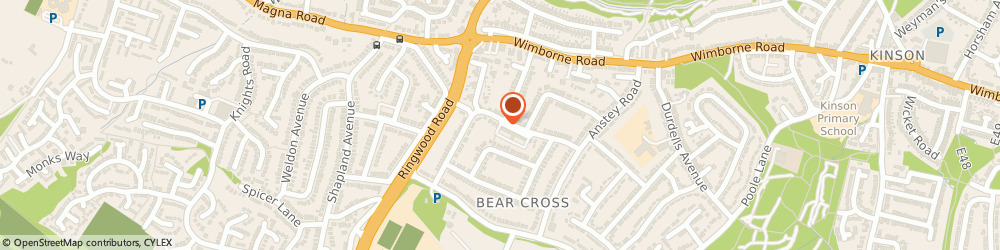 Route/map/directions to Bear Cross Fisheries, BH11 9HS Bournemouth, 36 Anchor Rd