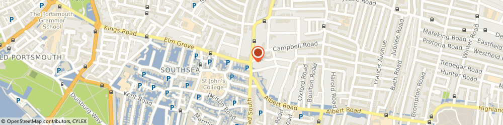 Route/map/directions to UPS Solutions Logistics, PO5 1QR Portsmouth, 2 - 4 Outram Road