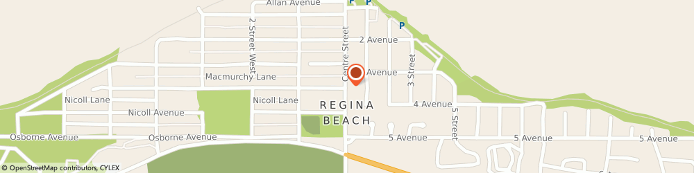 Route/map/directions to Coulee House Cottages, S0G 4C0 Regina Beach, LAST MOUNTAIN LAKE