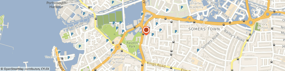 Route/map/directions to Innovation Space, PO1 2QF Portsmouth, 1-2 Hampshire Terrace