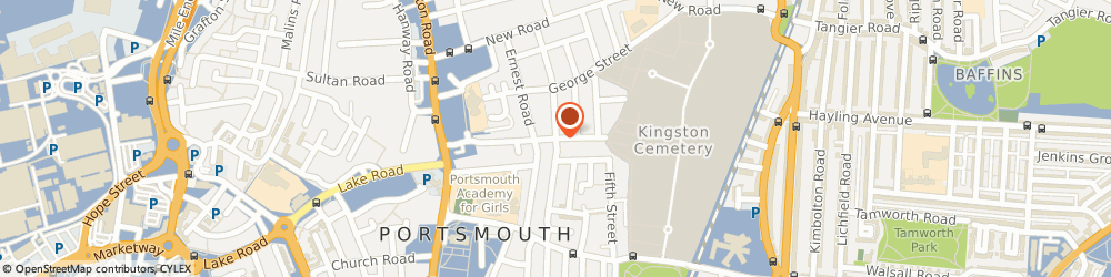 Route/map/directions to Prestige Locksmiths, PO1 5LW Portsmouth, 177 Shearer Rd