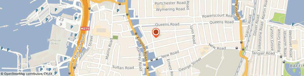 Route/map/directions to Flickers Golden Oldies, PO2 7PR Portsmouth, 38 BALLIOL ROAD