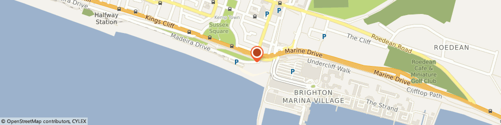 Route/map/directions to Lifes a Beach, BN2 1PS Brighton, 4-5 MADEIRA DRIVE