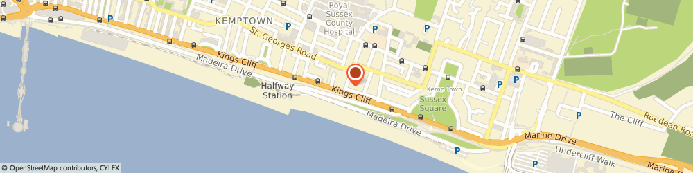 Route/map/directions to Mex One Recordings, BN2 1EH Brighton, 3 EATON PLACE