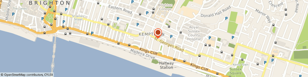 Route/map/directions to LUCKY STONE STUDIOS LTD, BN2 1DA Brighton, 17B Bloomsbury Place