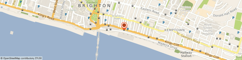 Route/map/directions to Seagull Restaurant, BN2 1PS Brighton, 11-14 Madeira Drive
