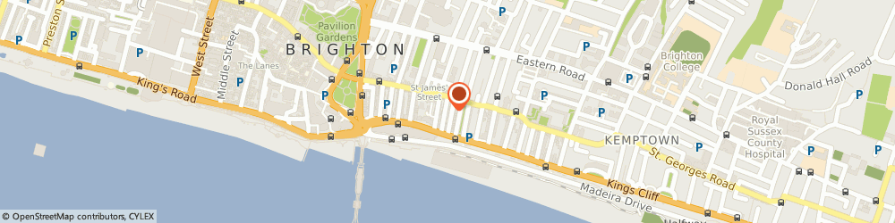 Route/map/directions to Yellow Fish Music Limited, BN2 1TS Brighton, CONCORDE HOUSE, 18 MARGARET STREET
