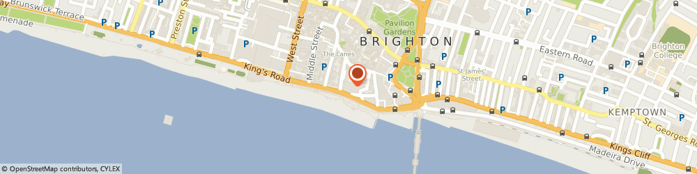 Route/map/directions to Old Police Cells Museum, BN1 1JA Brighton, Bartholomew Square