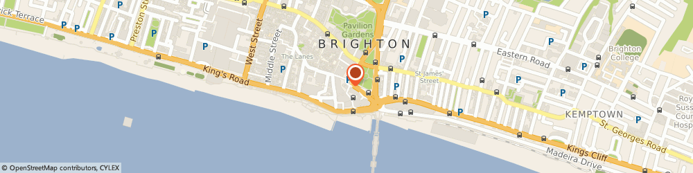 Route/map/directions to Adams Consulting Engineers Ltd, BN1 1NH Brighton, 44-46 Old Steine