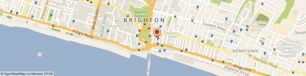 Route/map/directions to Otherplace Productions, BN2 1TE Brighton, 10 STEINE ST
