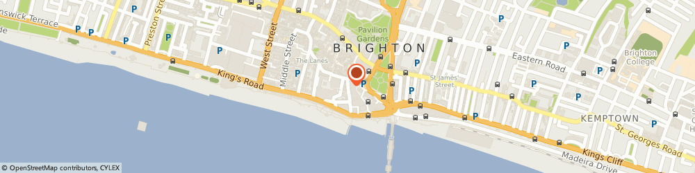 Route/map/directions to South Lane Chiropractic, BN1 1HP Brighton, 14 East St
