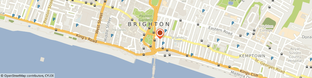 Route/map/directions to Brighton Fringe Ltd, BN1 1EL Brighton, 21-22 Old Steine