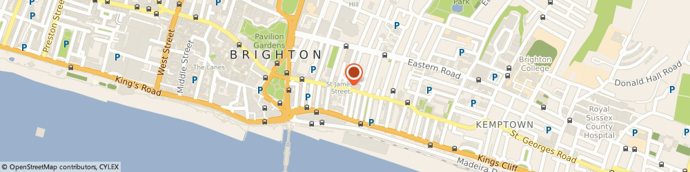 Route/map/directions to QuickFix Repair Centre, BN2 1RG Brighton, 34 St James's St