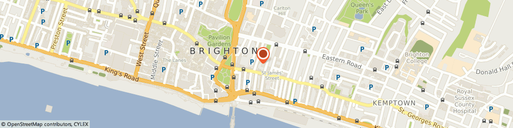 Route/map/directions to Inka, BN2 1RJ Brighton, 52, GEORGE STREET