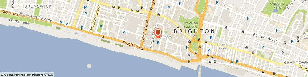 Route/map/directions to Estereo, BN1 1AL Brighton, 73A Middle St