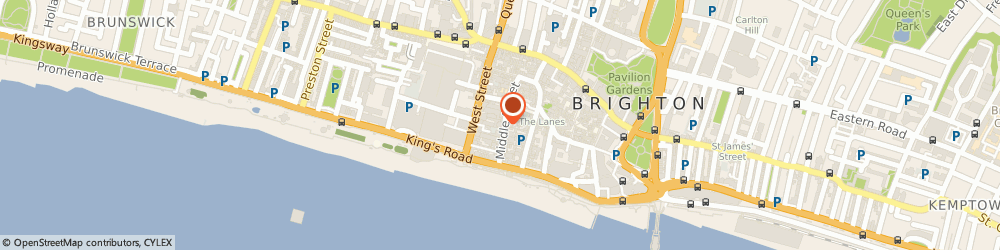 Route/map/directions to Passion4IT, BN1 1AL Brighton, 15-17 Middle St