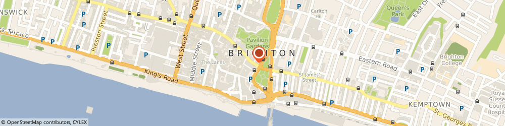 Route/map/directions to Gunns, BN1 1EG Brighton, 6 Castle Square