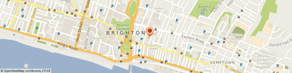 Route/map/directions to Freedom Bikes, BN2 1RJ Brighton, 46-47 George St