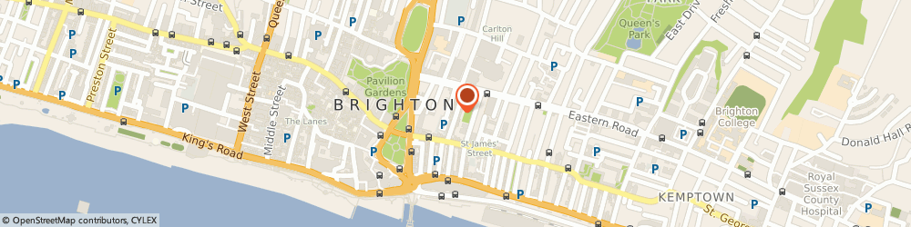 Route/map/directions to Lancaster Car & van Hire, BN2 1RJ Brighton, 43 George Street