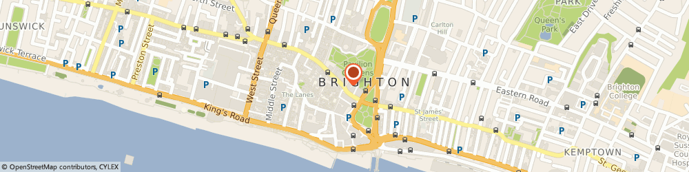 Route/map/directions to Made in Brighton, BN1 1EE Brighton, 12A PAVILION BUILDINGS