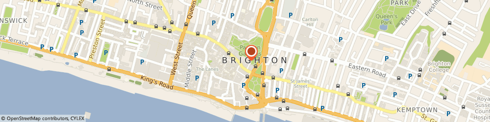 Route/map/directions to Royal Pavilion, BN1 1EE Brighton, 4/5 Pavilion Buildings