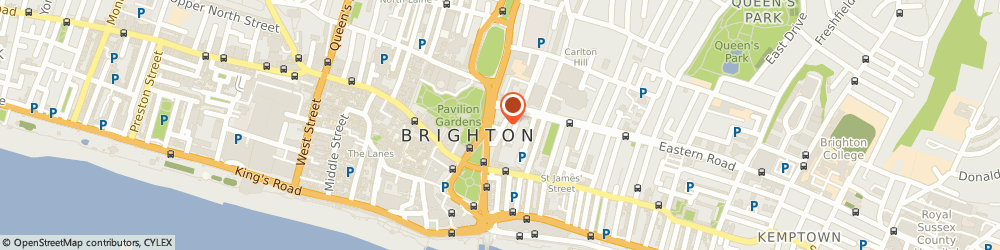 Route/map/directions to Marlborough Pub & Theatre, BN2 1RD Brighton, 4 Princes Street