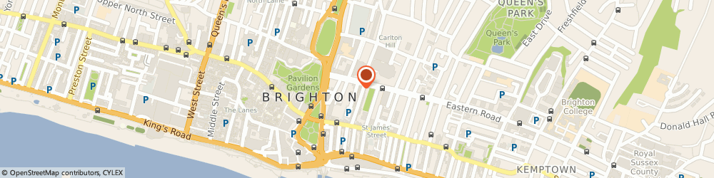 Route/map/directions to The Florists Workshop, BN2 1WA Brighton, 8 Dorset St