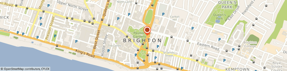 Route/map/directions to Rosie Christos Personal Trainer, BN2 1AY Brighton, Madeira Drive, 9 The Terraces