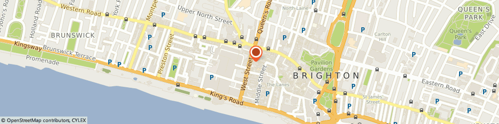Route/map/directions to ALPHASTAFF, BN1 2RE Brighton, 33 West Street