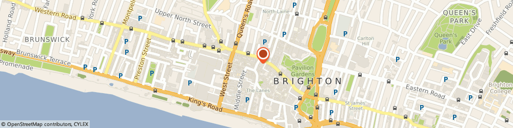 Route/map/directions to Pets Corner, BN1 1AD Brighton, 32 Ship Street
