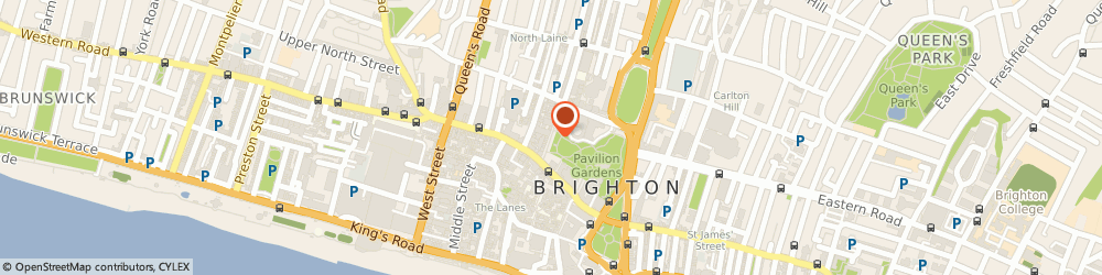 Route/map/directions to Car Rental Bookers Limited, BN1 1EY Brighton, PAVILION VIEW, 19 NEW ROAD