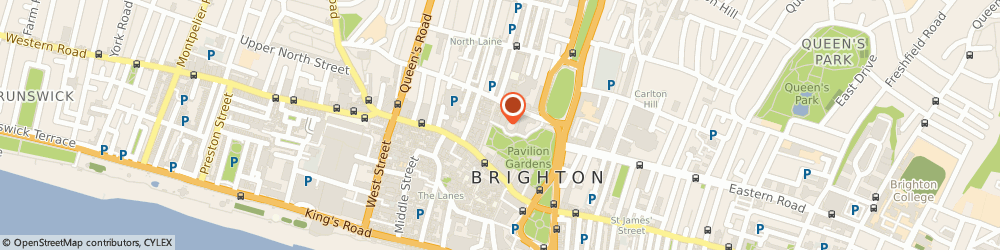 Route/map/directions to Brighton Fishing Quarter, BN1 1NB Brighton, 205 KINGS RD ARCHES