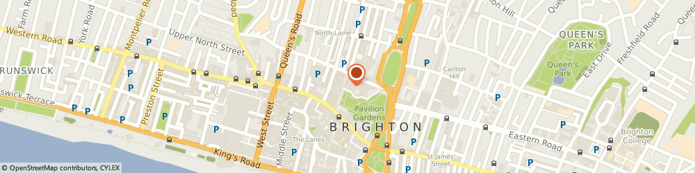 Route/map/directions to Brighton Dome, BN1 1UG Brighton, 29 New Road