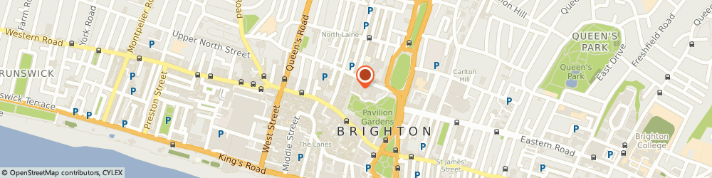 Route/map/directions to Pavilion Theatre (Brighton), BN1 1UG Brighton, 29 New Rd