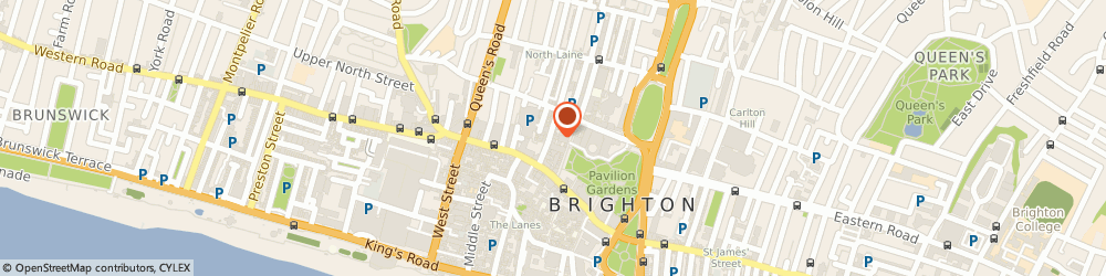 Route/map/directions to Jing Institute, BN1 1RD Brighton, 28-29 Bond St