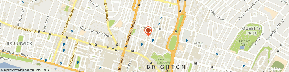 Route/map/directions to Groundsure Ltd, BN1 1UJ Brighton, Sovereign House, Church Street