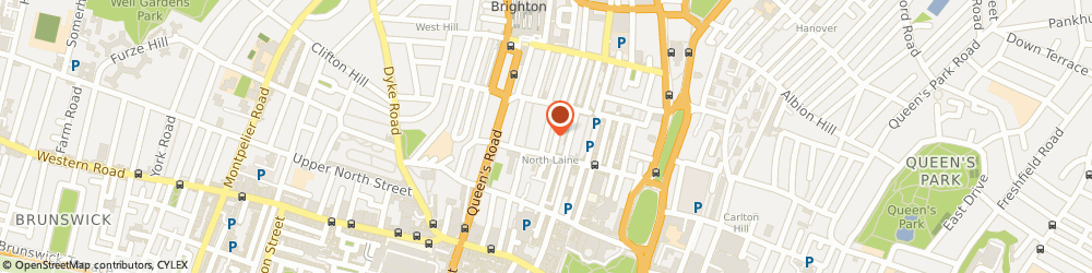 Route/map/directions to Giant Arc Design, BN1 4AT Brighton, 8 Foundry St